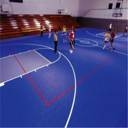 PP indoor pickleball / basketball field courts flooring for sale