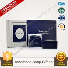 100% Pure Plants Extracts Handmade Soap Gift set OEM/ODM Professional Supplier