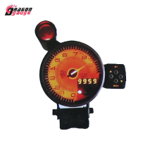 "Tacho 5"" 80mm 7 Colour Rev Counter Racing Gauge Tachometer Auto Gauge"