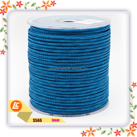 Factory direct colourful good quality braided steel wire cord wholesale for jewelry making
