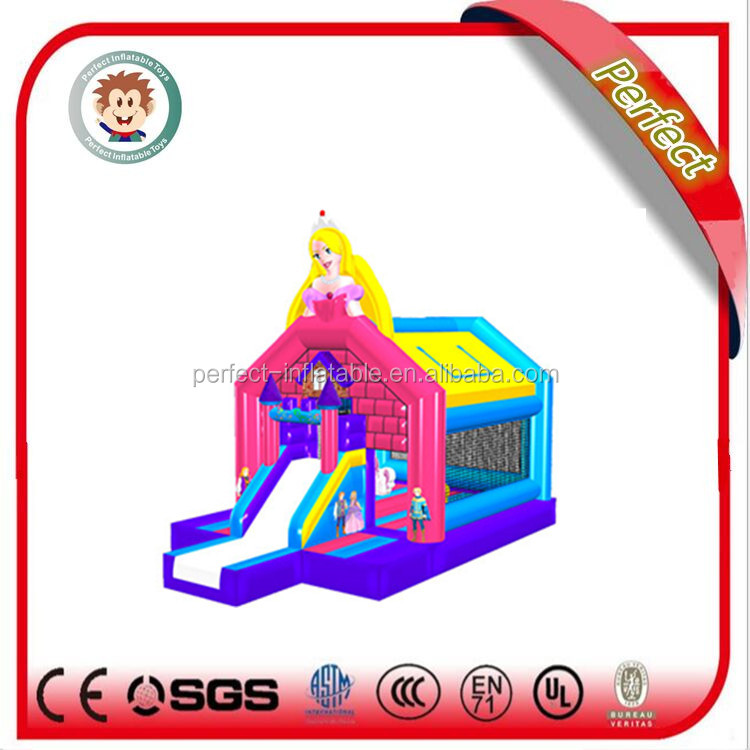 Commercial amazing inflatable mini combo jumper, inflatable bouncer sale combo