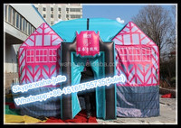 Customized House Tent Inflatable/Advertising Tunnel/Cube Tent W10355