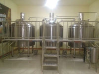500l 800l 1000l mini beer brewery 2000l stainless steel alcohol fermentation