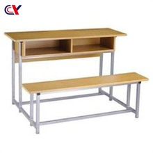 Contemporary classroom furniture kids study table and chair benches for classrooms