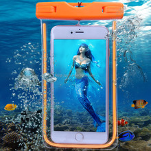 Water proof phone Case Underwater Bag For iPhone 5 5S 6s 7 Plus waterproof case for samsung galaxy S8 water proof phone case