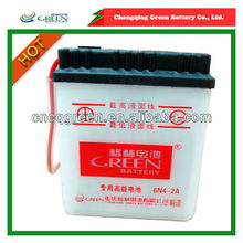 6v 4ah high performance dry charged motorcycle battery