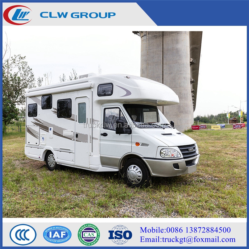 China manufacturer 4x2 iveco motorhome and caravan