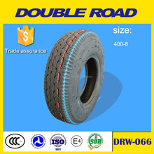 Wholesale manufacturer double road brand tricycle tire size 4.00-8 8PR chinese motor tyre prices