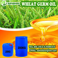 100% cold pressed name brand body oil wheat germ oil