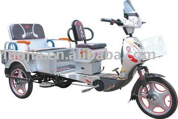 Electic Tricycle with Pedal three wheel motorcycle