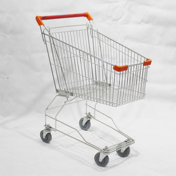Asian and Japanese style supermarket carts shopping trolley