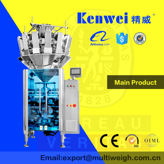 Light weight automatic chick peas packaging machine chestnut cheese food machinery manufacturers