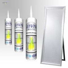 100% non corrosion neutral curing China fixed mirrors joint glue mirror fixing silicone sealant