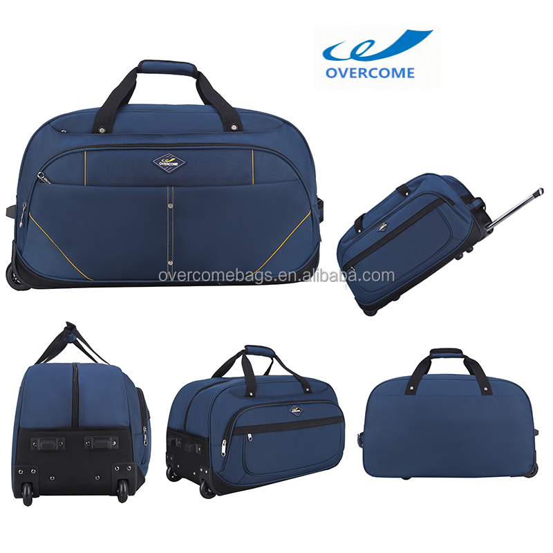 Trolley Bag 20 inch Luggage Pocket Rolling Duffel Bag