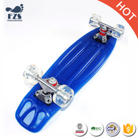 HSJ257 Bulk rechargeable longboard skateboard plastic element skateboard wholesale