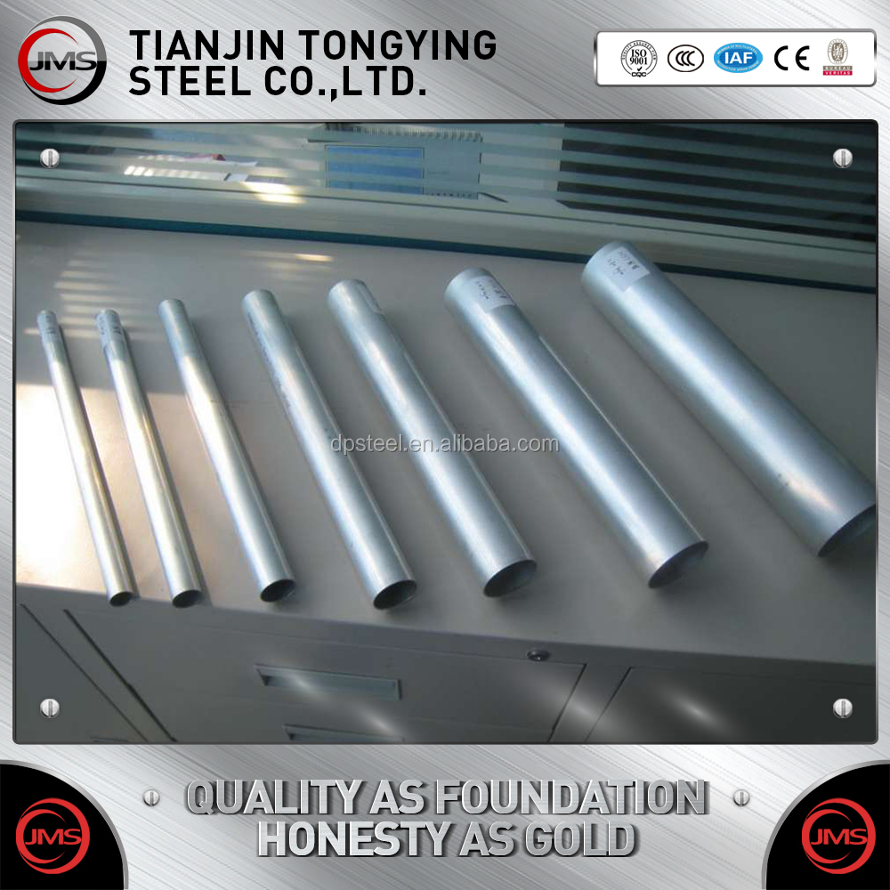 Hot dipped galvanized steel tube pipe/GI round steel pipe/tube welding structure building material
