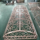 Decorative Metal Copper interiorportable folding screen room divider