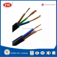 2~3 cores 1.5mm,2.5mm,4mm,10mm PVC insulated flexible power wire cable