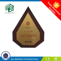 Manufacturer high-end wooden plaque signs wholesale