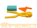 new eco-friendly material kids 3PCS Beach toys sand model beach shovel