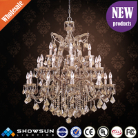 wholesale egyptian Crystal CE and UL commercial interior lighting pendant lamp
