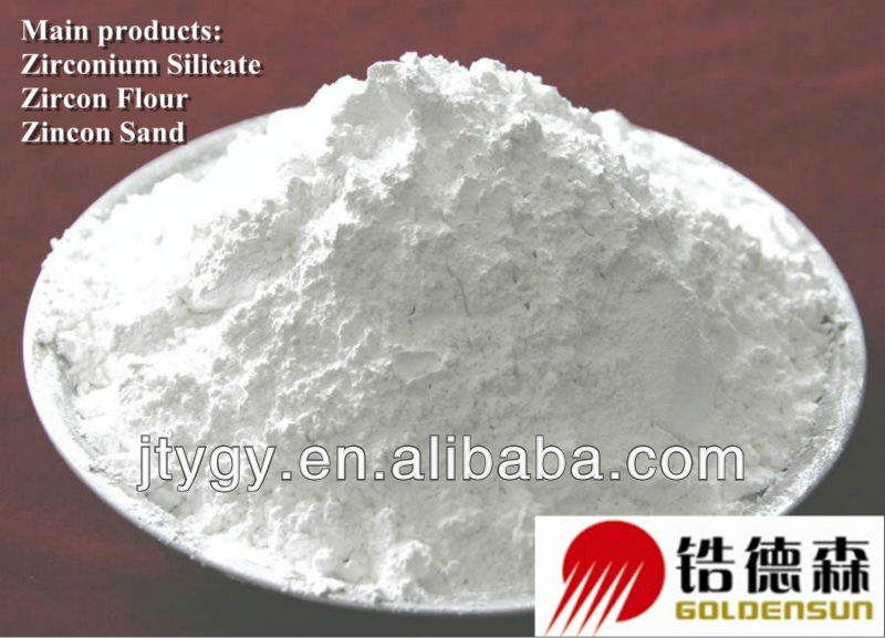 Zirconium Silicate with 64%min ZrSO4