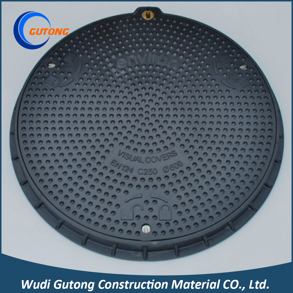 China Competitive High Quality FRP Manhole Cover and Frame