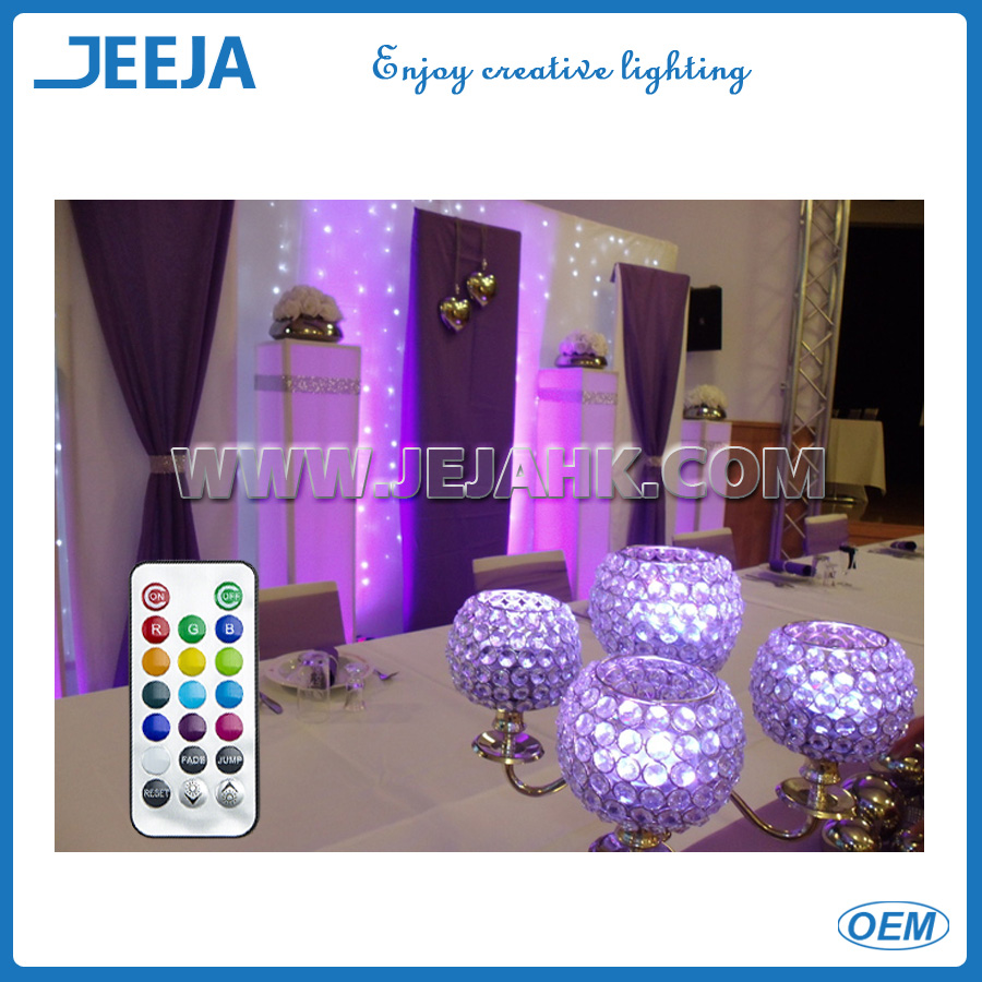 JEJA SUMIX 10 - RGB COLOR CHANGING SUBMERSIBLE LED WITH 10 LIGHTS - REMOTE CONTROL COMPATIBLE