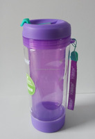 double wall water bottle tumbler with storage