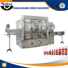 Professional Manufacturer Supplied Automatic Carbonated Soft Drink Filling Machine / Carbonated Beverage Filling Equipment