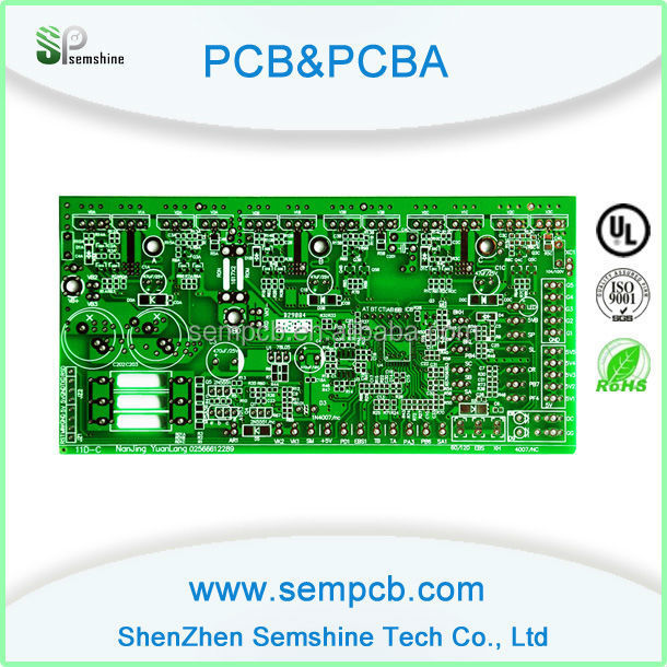 FR-4 double sided printed circuit board for wax vaporizer