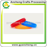 Embossed Silicone Wristbands World cup promo products/item/gifts