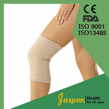 JASPER Hot Sale Acrylic Nylon Medical Knee Brace with 32 Magnetics