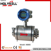 Holykell 4880E DN50 Sanitary Type Integrated Electromagnetic oil Flow Meter
