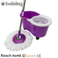 New Designs 360 Easy Magic Electric Spin Mop with 4 Wheels