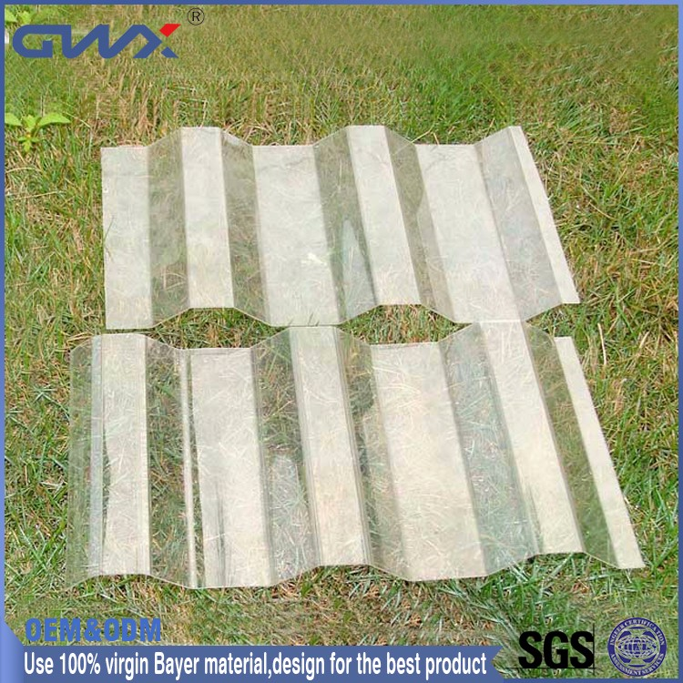 Fire Retardant Grade B1 Polycarbonate UV Proof