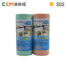 China supplier professional disposable spunlace nonwoven fabric household cleaning kitchen wipes