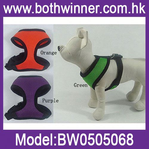 Adjustable dog harness with pocket ,h0tbw reflective nylon dog harness for sale