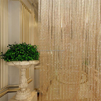 2016 tassel curtain design metal mesh curtain for smart home