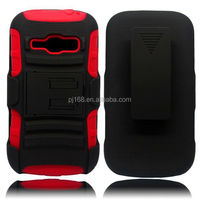 3 in 1 heavy duty kickstand hybrid combo case for Samsung galaxy S3 MINI I8190