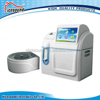 Color of Touch screen Electrolyte Analyzer