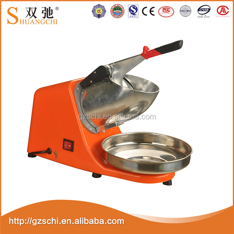 SC-07 new technology 250W automatic electric ice crushers /shavers machine