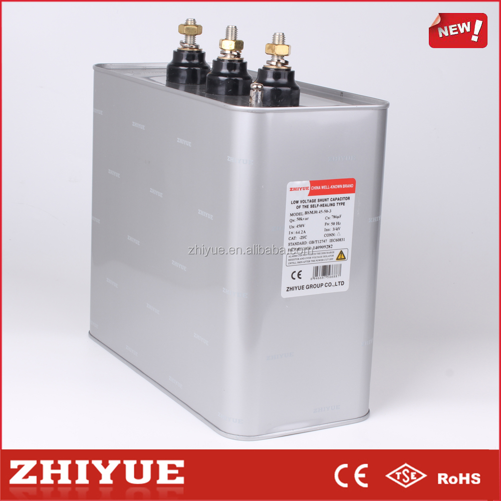 250V 3-Phase 30Kvar General Electric Capacitors