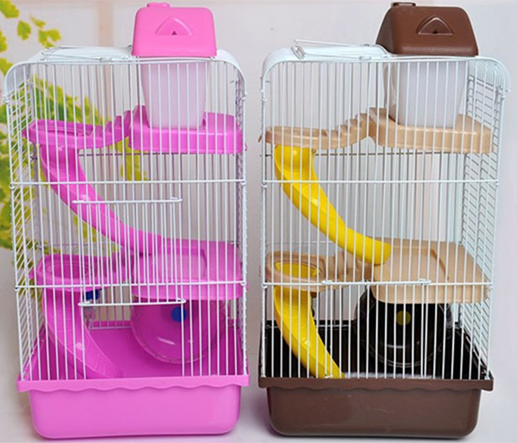 New design custom syrian dwarf hamster gerbil mouse small pet cage Wholesale