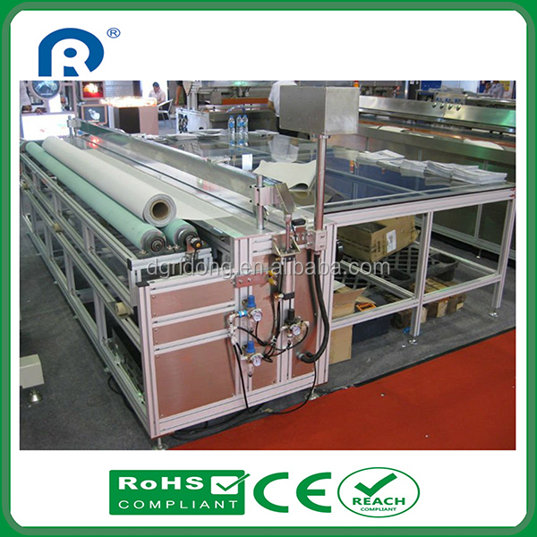 Ultrasonic Sun Shade Fabrics Cutting Machine