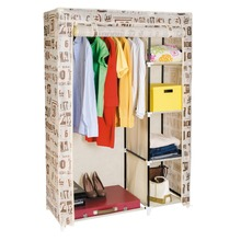 Jingcui Double Canvas Wardrobe Foldable