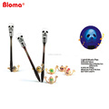 innovation skeleton shape music and light up ball pen for kids Halloween gifts