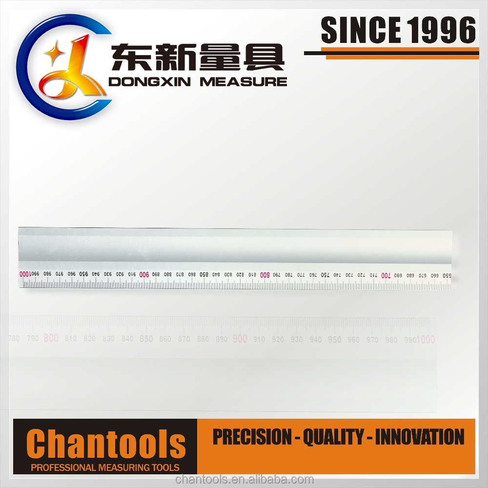 [CHANT] Heavy Duty Alum Alloy Scale Straight Ruler with High Quality QDX06