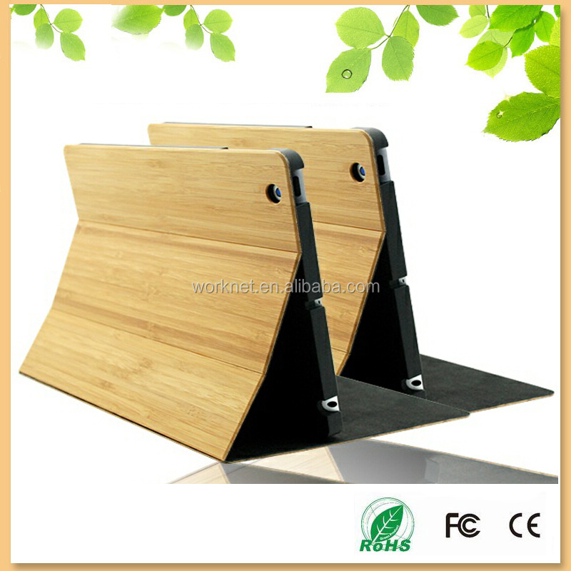 New arrival bamboo wood tablet case cover real natural bamboo case for ipad mini 4 , for ipad mini 4 case wood