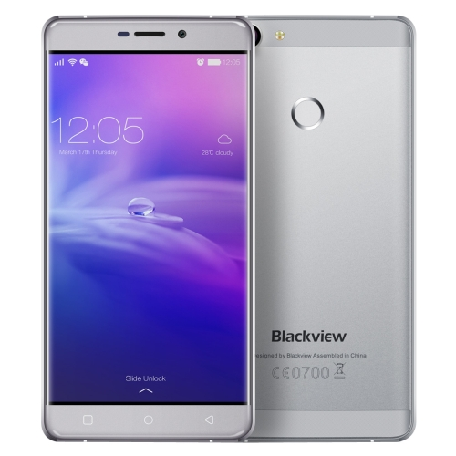 New Arrival Blackview R7 32GB,4G Fingerprint Mobile Phone 5.5 inch Android 6.0 MTK6755 Octa-core 2.0GHz, RAM: 4GB Grey